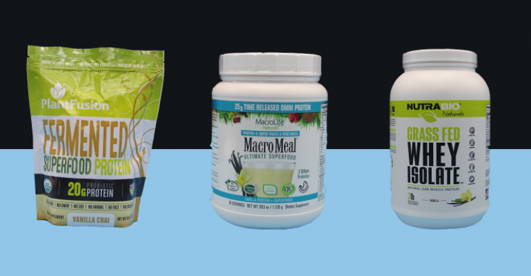 natural protein powders
