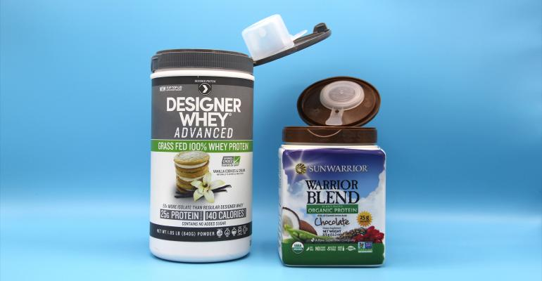 protein powder packaging