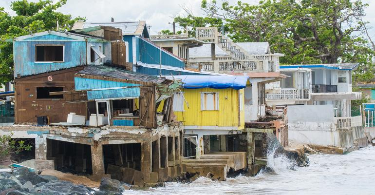 Businesses in Puerto Rico damaged by Hurricane Maria 2017