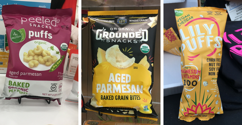 Puffed Snacks at Expo East 2017