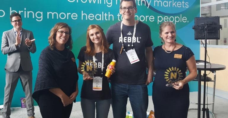 Rebbl NEXTY Gold Awards at Natural Products Expo East