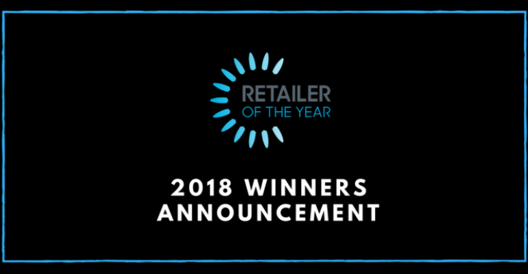 2018 Retailer of the Year winners