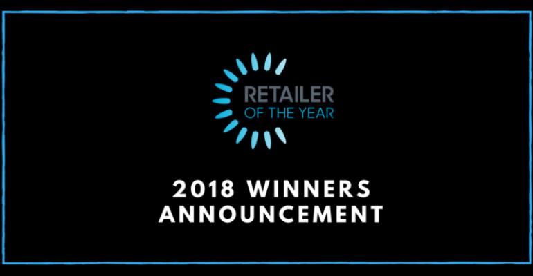 2018 Retailer of the Year winners