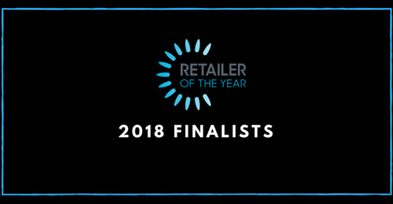 Retailer of the Year finalists opening slide