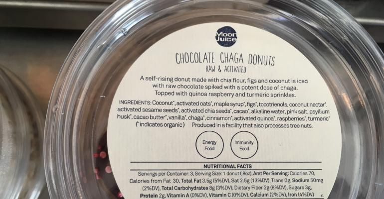 chocolate chaga donuts