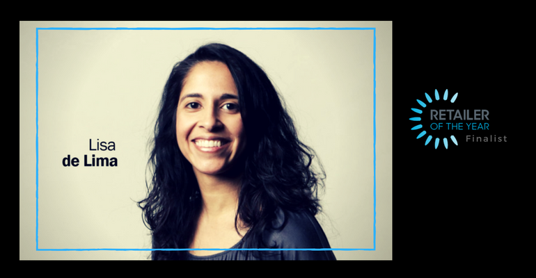 Lisa de Lima, 2018 Retailer of the Year finalist, Insipring Retail Woman