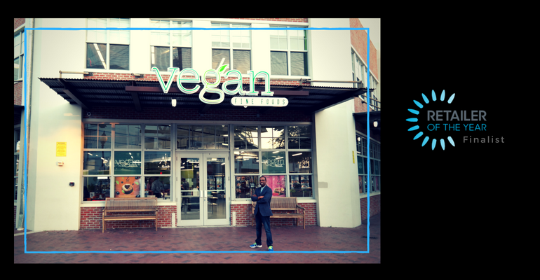 Vegan Fine Foods, 2018 Retailer of the Year finalist, Creative New Store/remodel