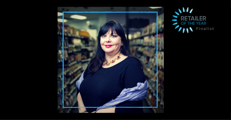 Retailer of the Year finalist Angie O'Pry Blades