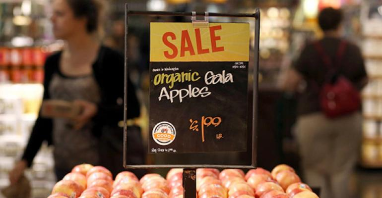 organic gala apples on sale at Whole Foods Market