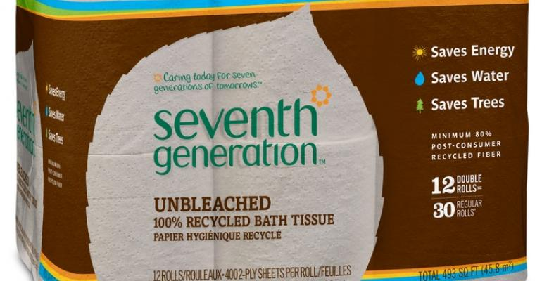 Seventh Generation unbleached toilet paper