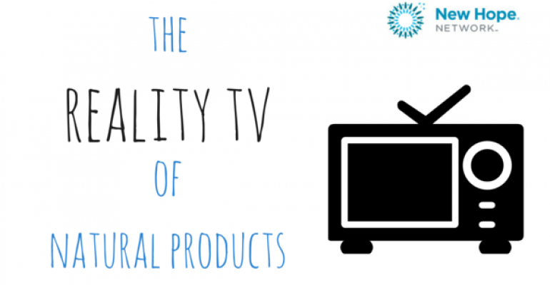 reality tv of natural products illustration