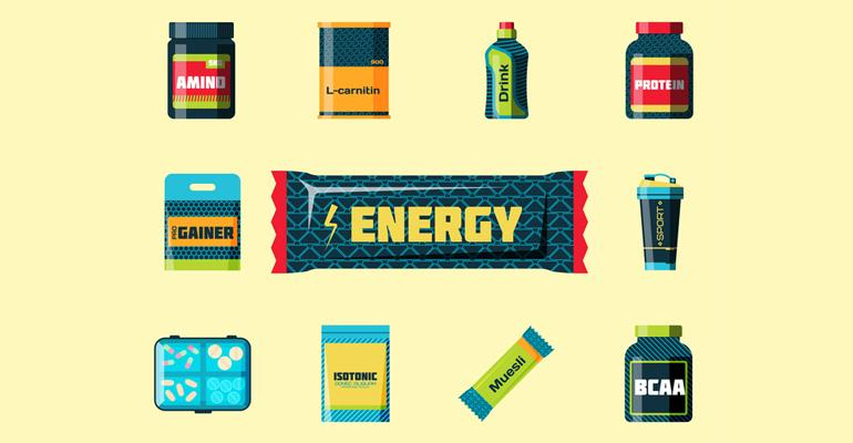 sports nutrition energy protein
