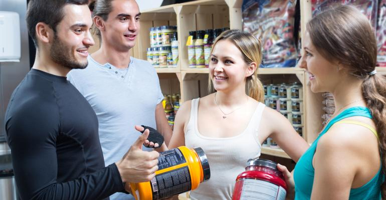 Sports nutrition shoppers