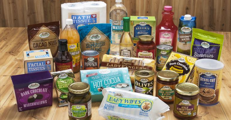 Sprouts private label products