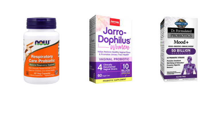 Strain Specific Probiotics Target Health Benefits
