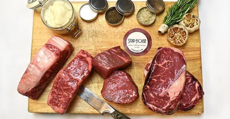 Strip House Steak go kit