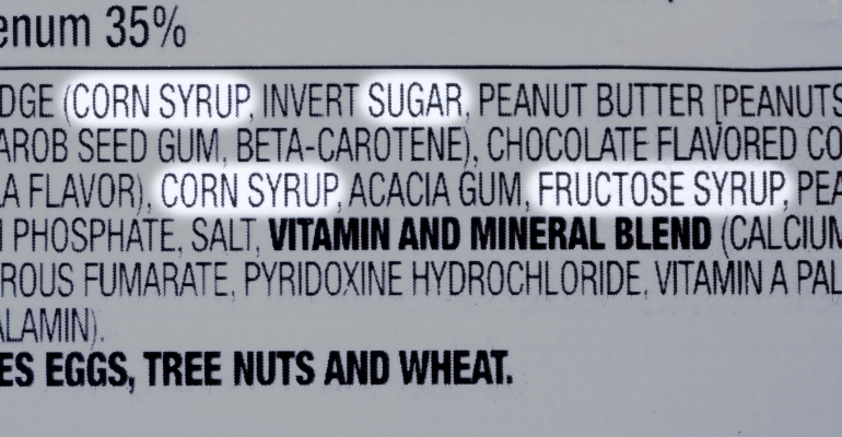 sugar ingredients