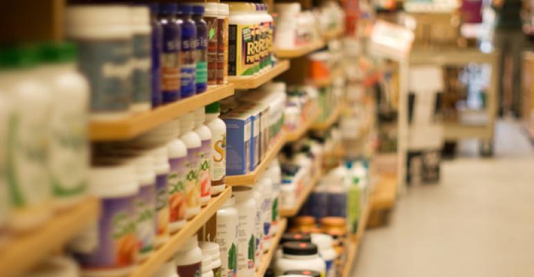 supplement aisle
