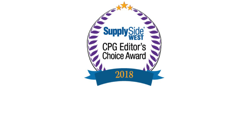 SupplySide CPG Editor's Choice Award