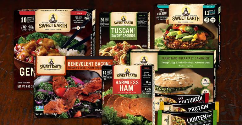 Sweet Earth plant-based frozen foods