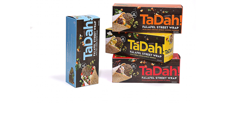 Tadah Foods boxes