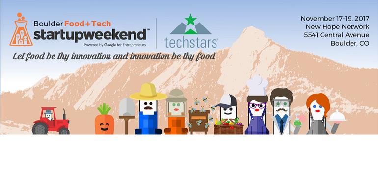 Techstars Startup Weekend Food + Tech Boulder
