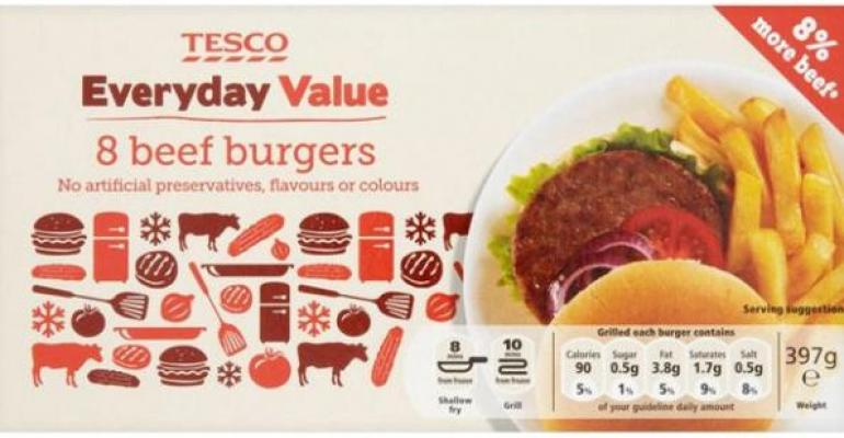 Tesco has a horsemeat problem