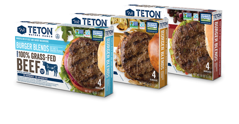 Teton Waters Ranch Burger Blends