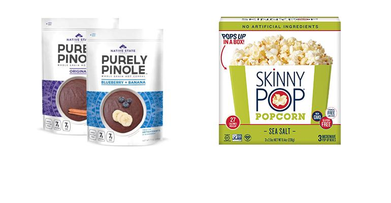 new products from SkinnyPop