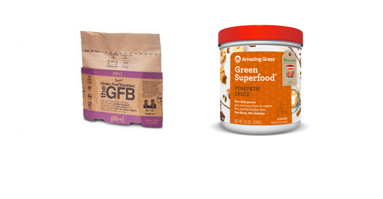 new natural products from GFB, Amazing Grass
