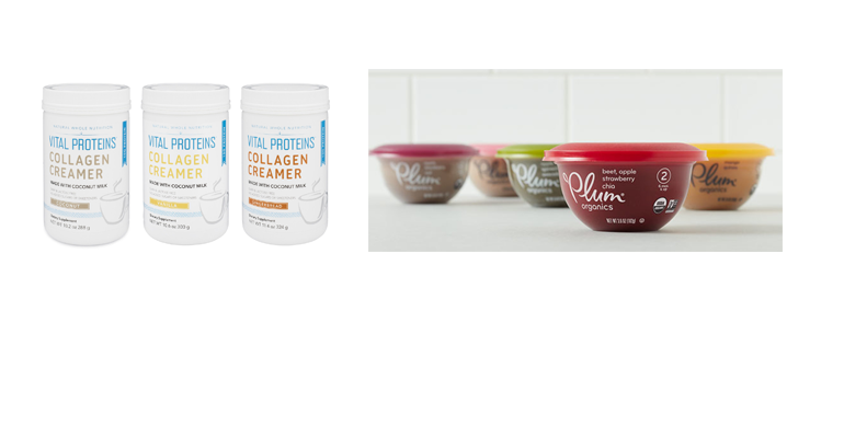 new products from Plum Organics, Vital Proteins