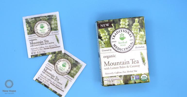 Traditional Medicinals Organic Mountain Tea with Lemon Balm & Caraway