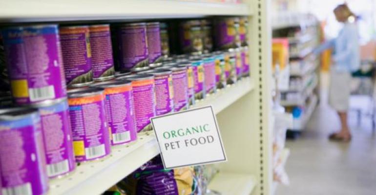 Dishing up organic pet foods