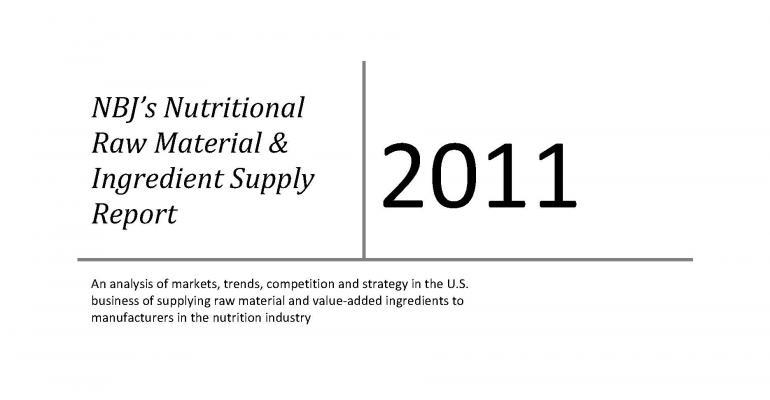 NBJ Raw Material & Ingredient Supply Report