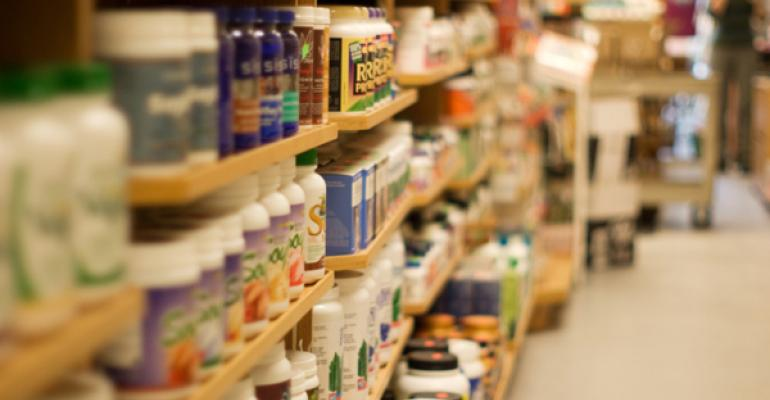 Could natural products retailers exist without supplements?