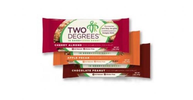 Two Degrees nutrition bars help feed hungry children