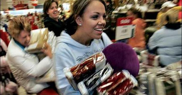 Retailers race for shoppers' Black Friday dollars