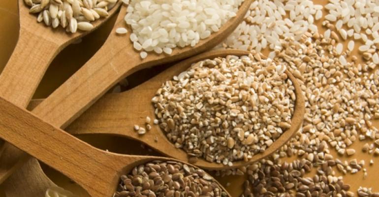 Blood sugar control with grain