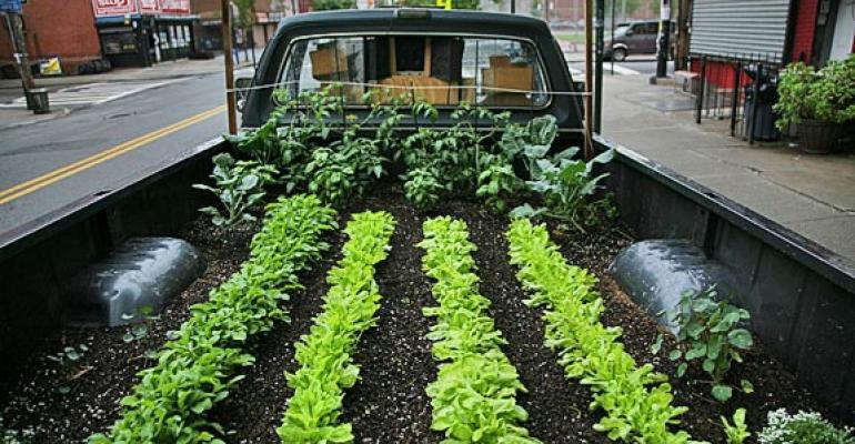 'Truck Farm' documents mobile garden