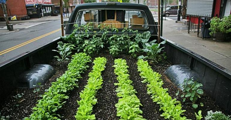 'Truck Farm' documents mobile garden