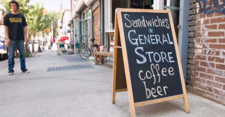 Note to natural retailers: signs matter