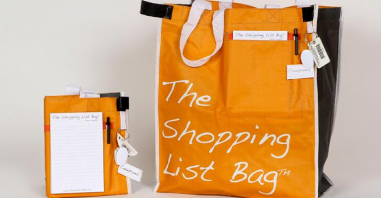 The Shopping List Bag guy offers sustainable advice for entrepreneurs