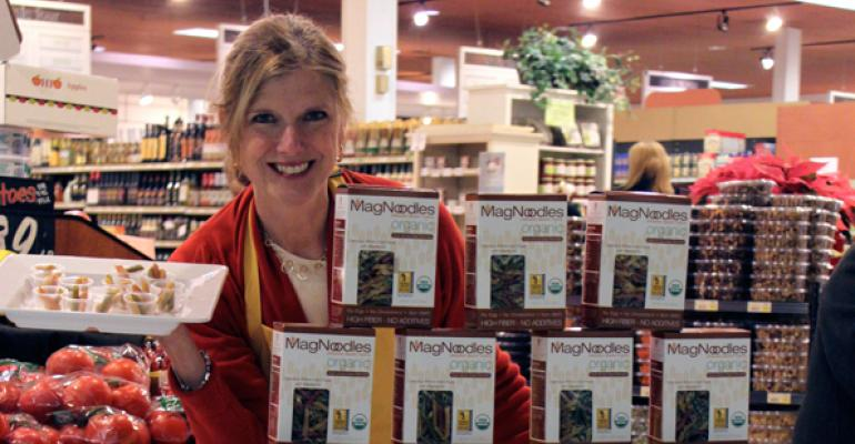 Former retailer turns passionate organic entrepreneur with MagNoodles