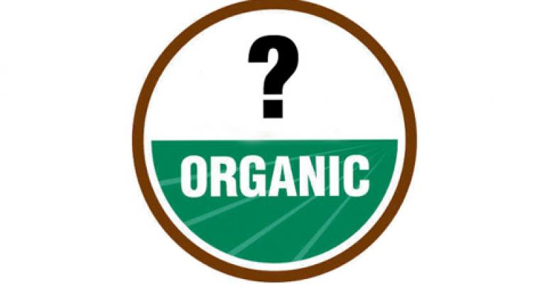 Retailers, beware of false organic labels