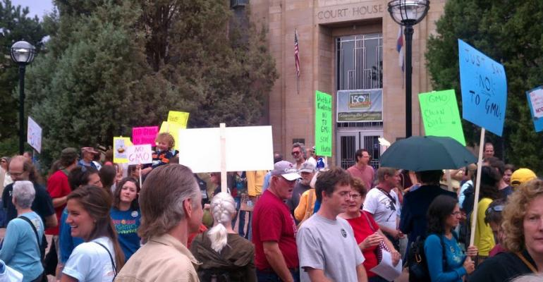 New Hope takes a stand against GMOs in Boulder