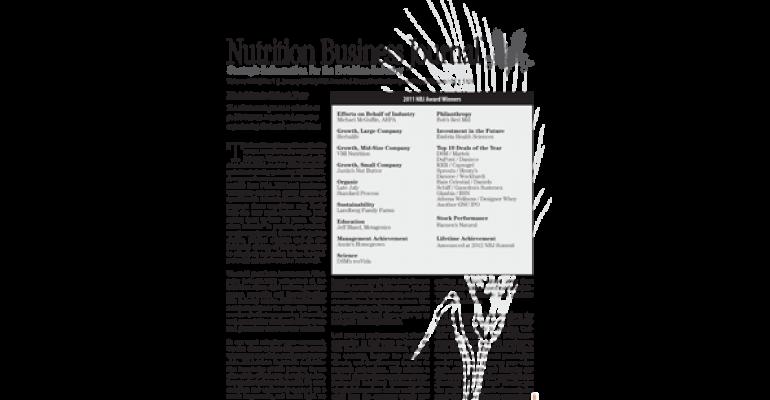 Bob and Charlee Moore of Bob's Red Mill win NBJ's 2011 Philanthropy Award