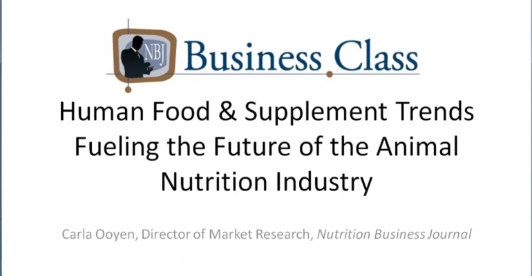 Chapter 2: Human Food & Supplement Trends Fueling the Future of the
