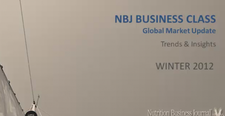 NBJ Global Nutrition Market Update