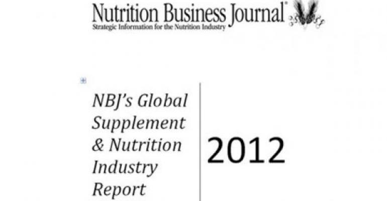 NBJ 2012 Global Supplement & Nutrition Industry Report