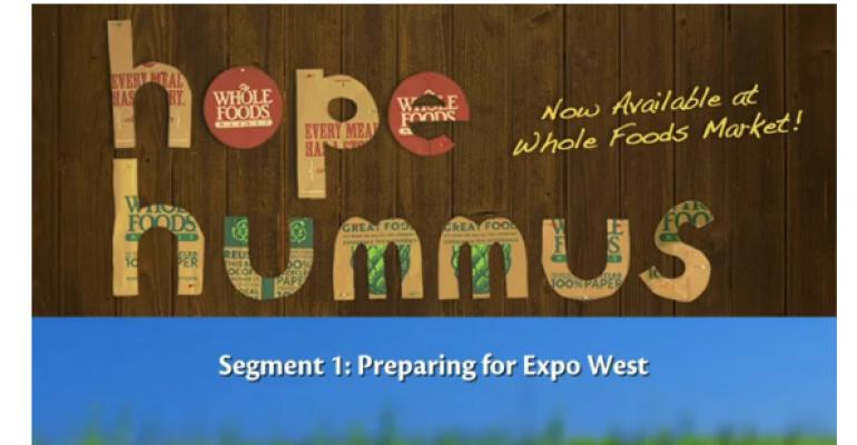 Exhibitor Profile Video: Hope Hummus prepares for Expo West 2012